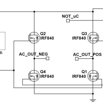 circuit diagram for the inverter dc to ac  download