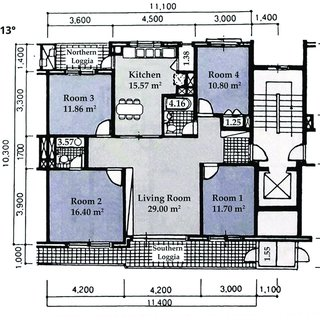 Typical Floor Plan Of An Apartment Unit