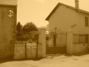 Mazeres house  sepia