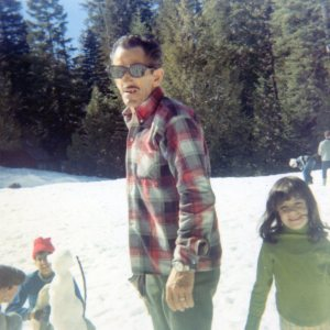 george melody at the snow ca 1973