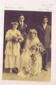 wedding of mamie and john correia minnie ventura smith manuel ventura with them