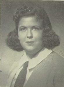 Charlotte Newman Yearbook Photo
