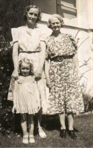 My grandmother, my great grandmother, and my mom a couple years before the divorce