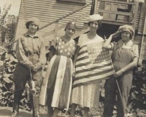 The Bonita's of Oakland, California celebrate Independence Day with their cousin from Hawaii.