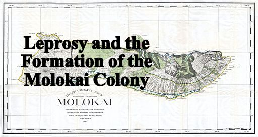 Land Office Map of Molokai, 1897, Public Domain