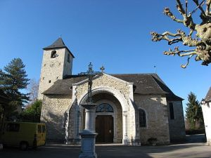 Church in Ogeu, France Source: By Jean Michel Etchecolonea (Own work) [GFDL or CC BY-SA 3.0], via Wikimedia Commons