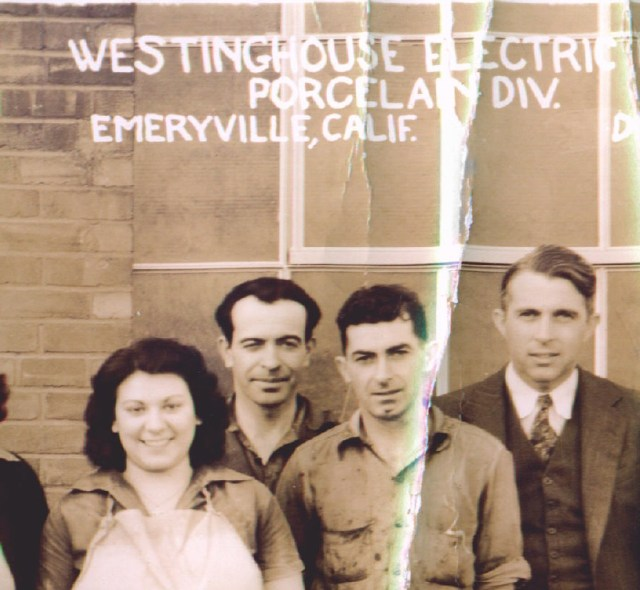 My grandfather worked for Westinghouse Electric in Emeryville