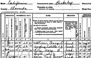 The 1940 US Census proves who Mary Riley Jackson is.