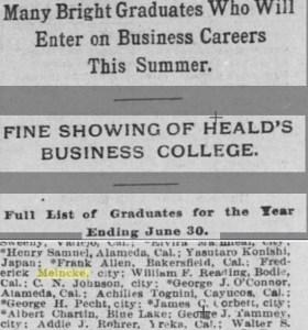 Heald college graduate
