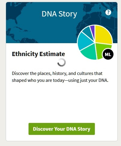 AncestryDNA ethnicity breakdown