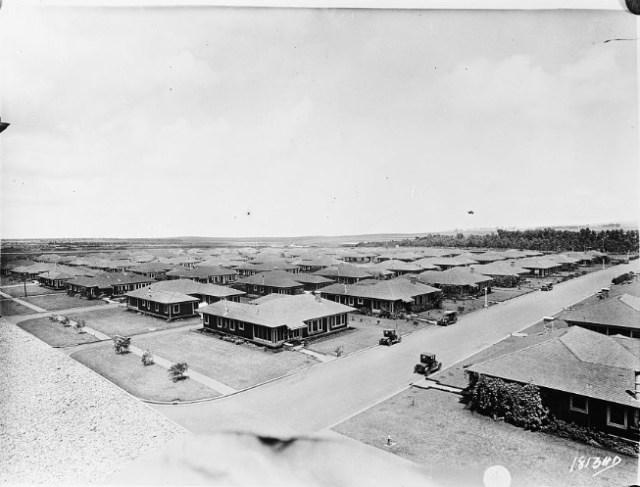schofield barracks hawaii early 1920s