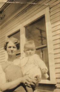 margaret jones jackson holding her grandson donald about 1930 oakland
