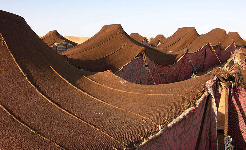Nomad Tents Provide Better Shelter In Middle East Refugee
