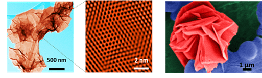 Simple, green and high-yield production of boron based nanostructures with diverse morphologies by dissolution and recrystallization of layered magnesium diboride crystals in water.
