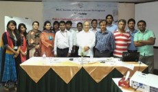 Photograph of the staff team at BIGD in Bangladesh