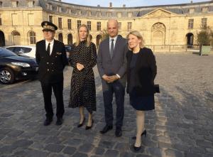 Présentation du Campus d'excellence de Versailles au ministre Jean-Michel Blanquer