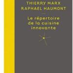 """Ce répertoire de la cuisine innovante de Thierry Marx et Raphaël Haumont (physico-chimiste) est à la cuisine actuelle ce que le """"Répertoire de la cuisine"""" de Gringoire et Saulnier est à la cuisine traditionnelle française. Termes, techniques, produits, procédés et processus physico-chimiques, applications, effets, saveurs, le répertoire aborde de manière extrêmement pédagogique et concrète tous les aspects de la cuisine innovante entendue comme """"haute cuisine maîtrisée"""" ou, de manière plus globale, comme cuisine moléculaire, classé par ordre alphabétique de « acide » à « zen » La réaction de Maillard..."""