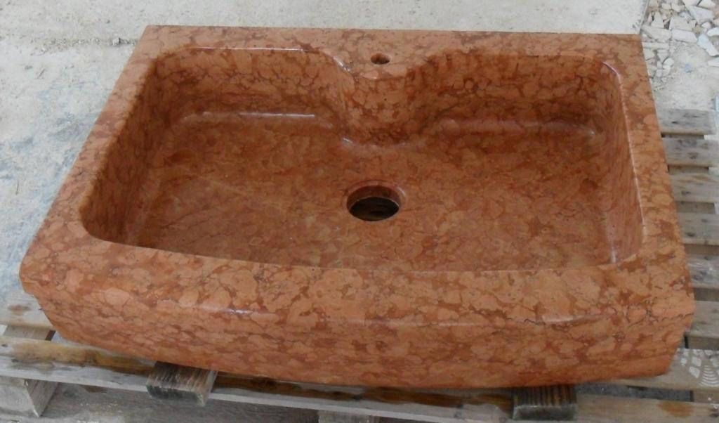 lavello-cucina-monovasca-in-marmo-rosso-verona-dim-ind-90x60x20-euro ...