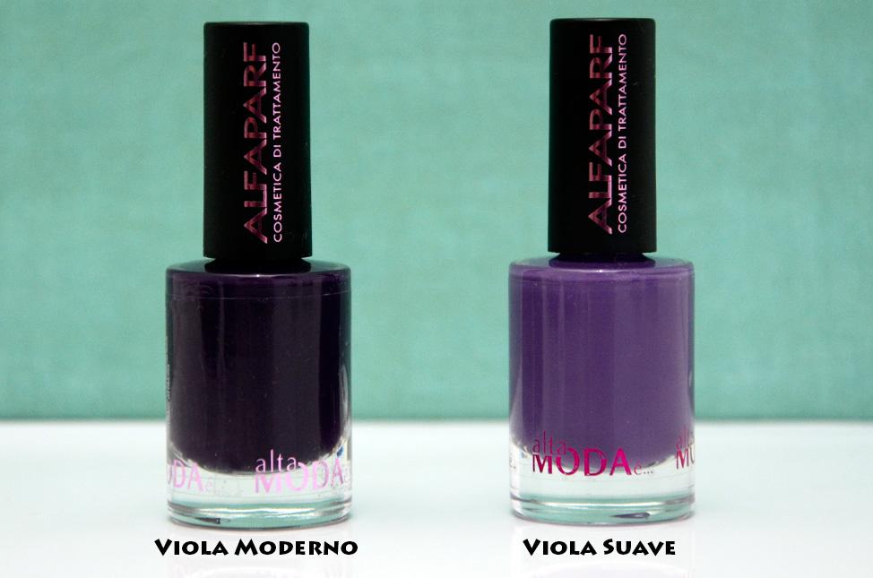 Resenha: Esmaltes Alta Moda é… Alfaparf – Viola Moderno e Viola Suave