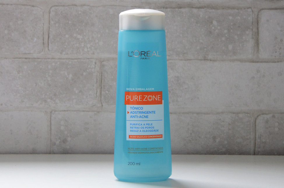 Tônico Adstringente Anti-Acne Pure Zone L'oréal Paris