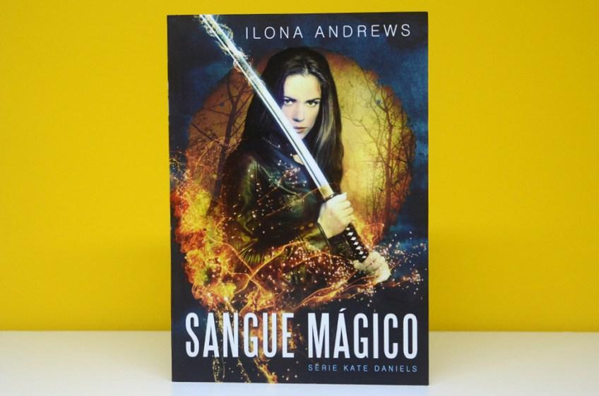 Resenha: Livro Sangue Mágico – Série Kate Daniels