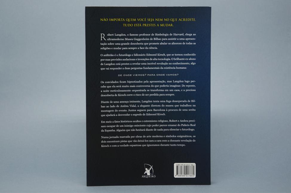 Livro Origem - Dan Brown