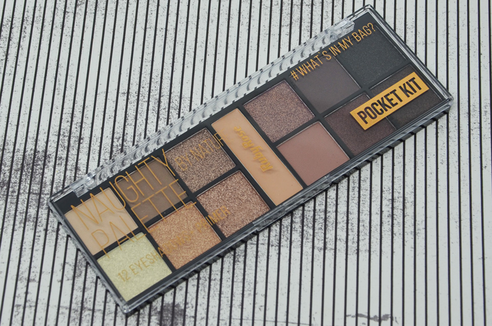 Kit de Sombras Naughty Palette by Nature da Ruby Rose