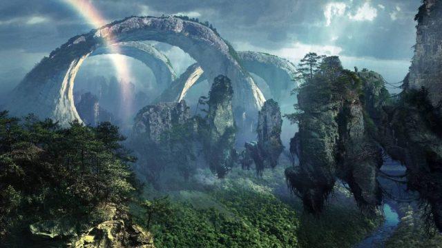 Hasil gambar untuk Wisata Alam Pegunungan Warisan China Zhangjiajie