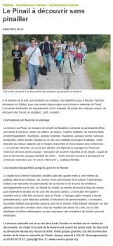 Sortie Crépusculaire au Pinail, Nouvelle République