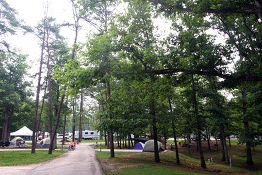 Camping At Carter Caves State Resort Park Ky