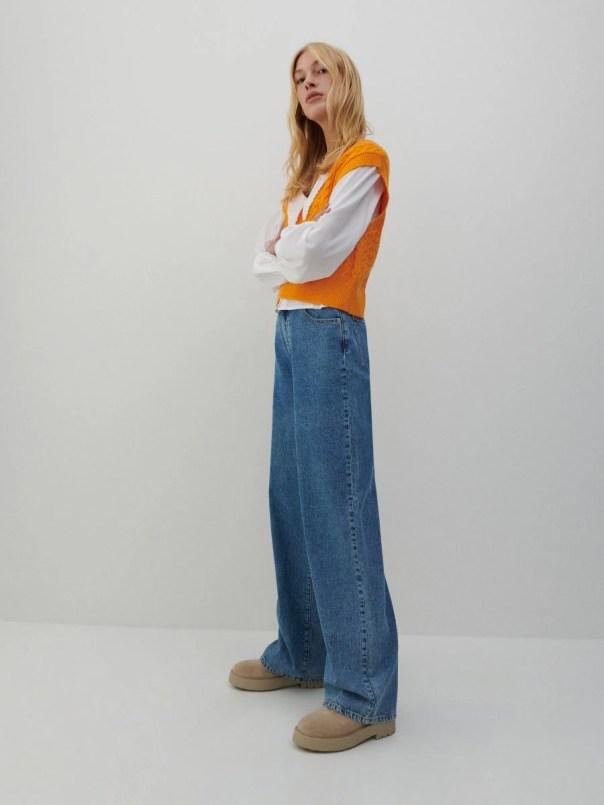 Organic cotton jeans - blue - 1477C-50J - RESERVED - 1