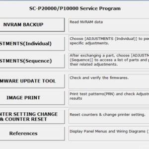 Service program for Epson SureColor SC-P6000,SC-P7000,SC
