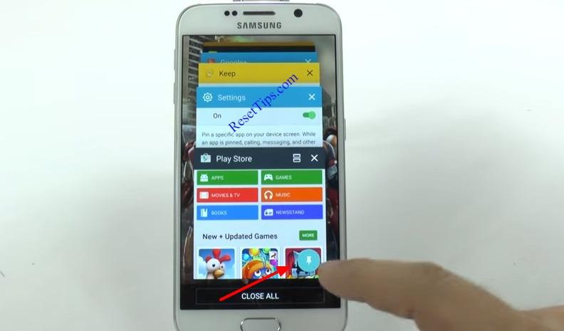 hard reset Galaxy S6 - hidden feature-29