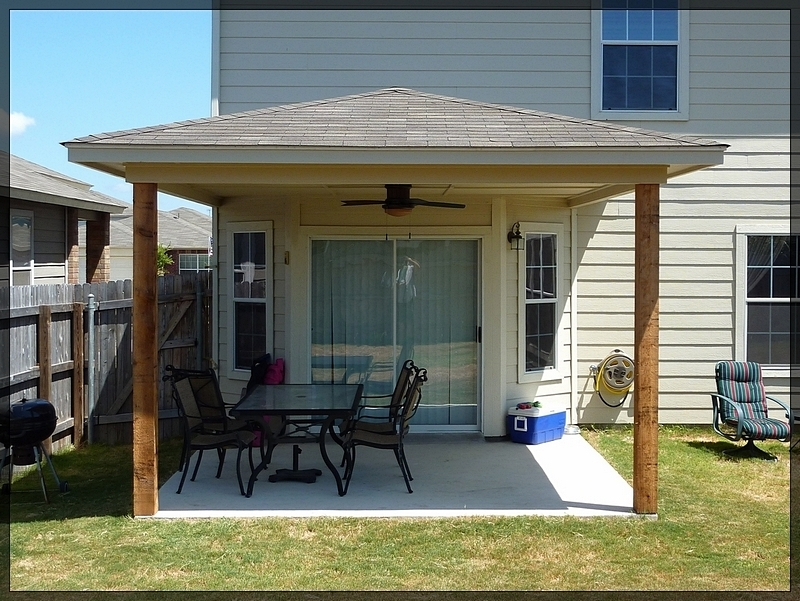cost to add covered patio house