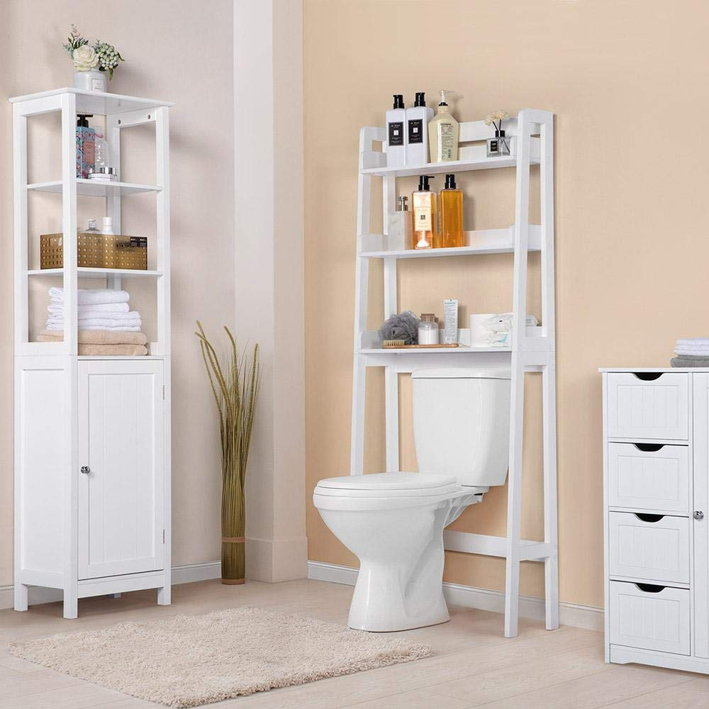 7 over the toilet storage ideas for