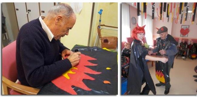 Actividades residencia de ancianos Sol i Natura - Carnaval