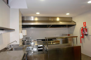 Detalle de la seguridad en la cocina de nuestra residencia de ancianos.
