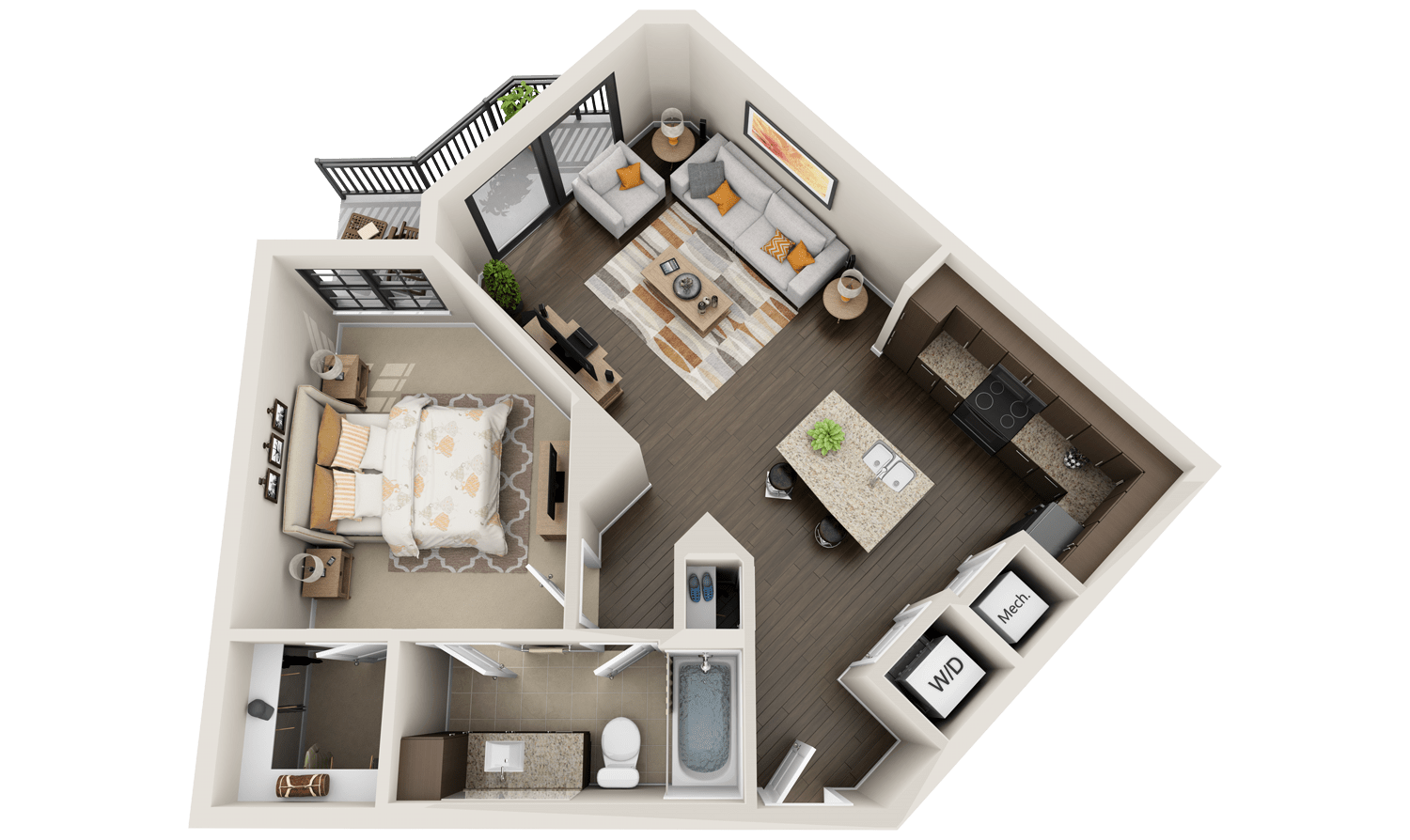 Exellent One Bedroom Apartment Floor Plans 3d For Apartments Get Your Quote Now E Ideas