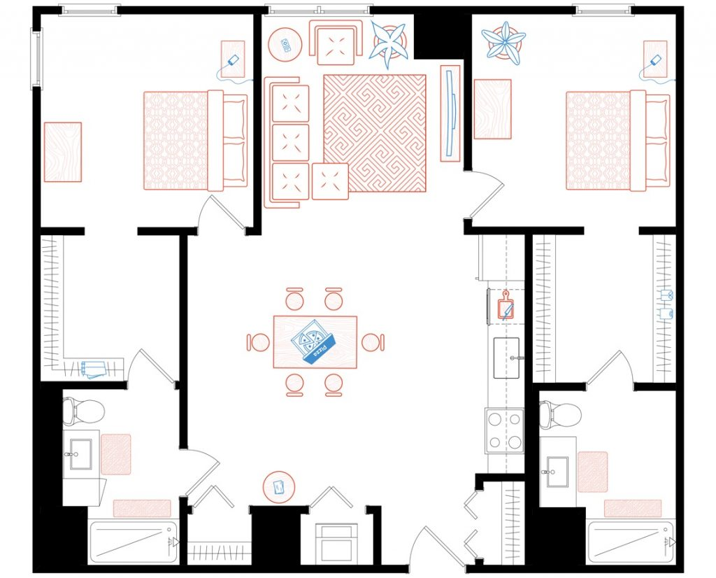 How Creative Can You Get With Your Apartment Floor Plans