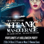 Ra Portland Halloween Titanic Masquerade Pier Pressure Yacht Party At Tom Mccall Waterfront Park Portland 2019