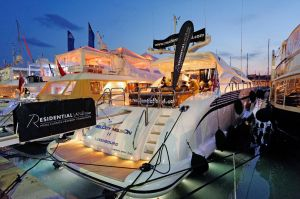 MIPIM 2012 - The Residential Land boat was a popular place to visit