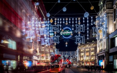 Top 11 Christmas Lights in London