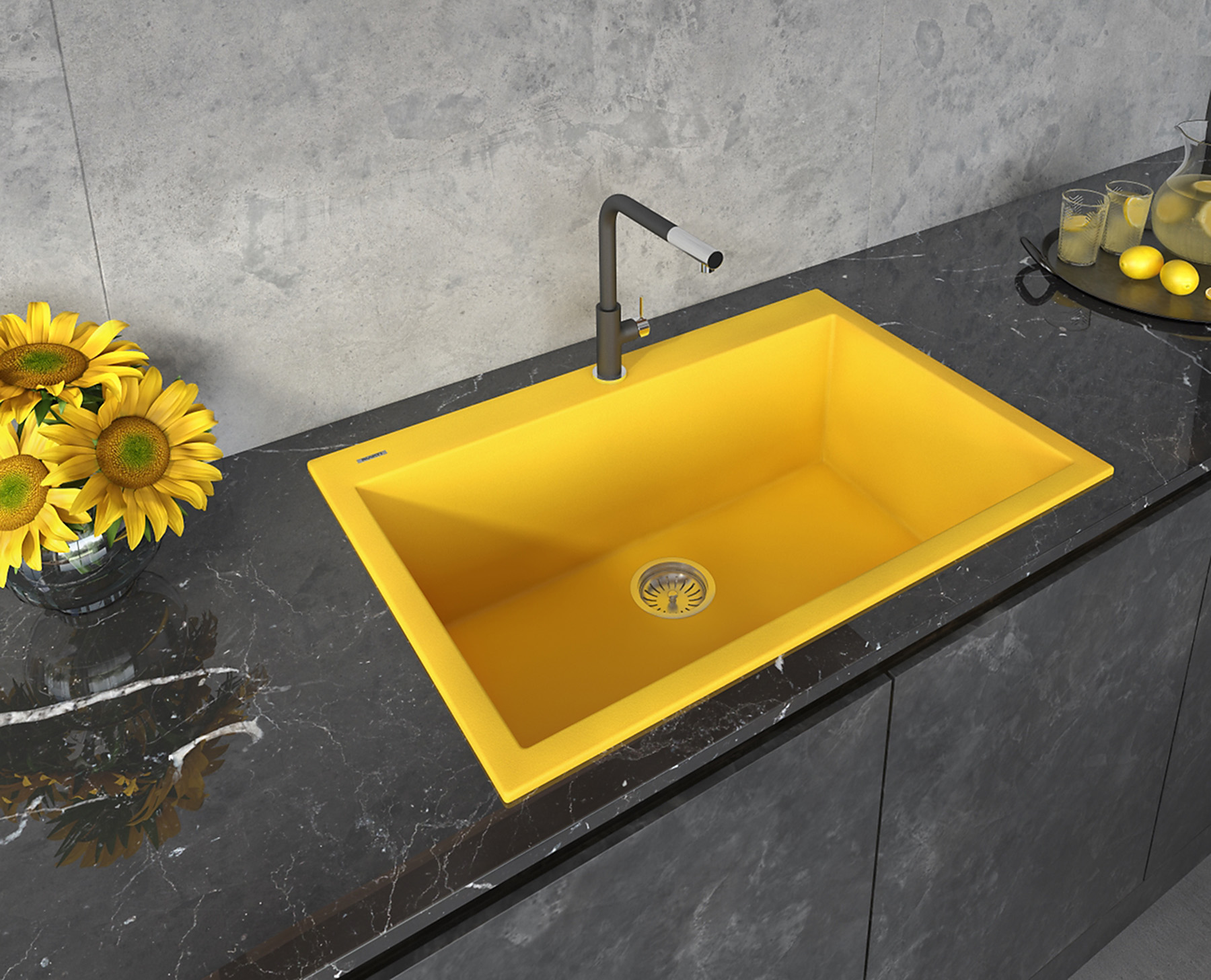 ruvati adds bright yellow to epigranite