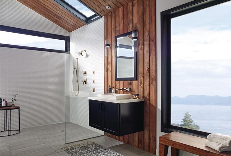 a curbless shower