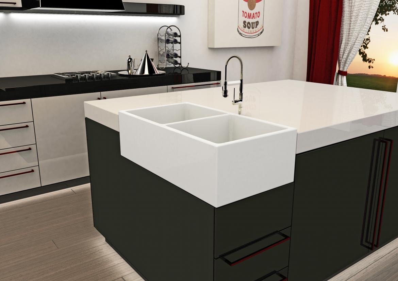 ruvati adds corner sink to apron front