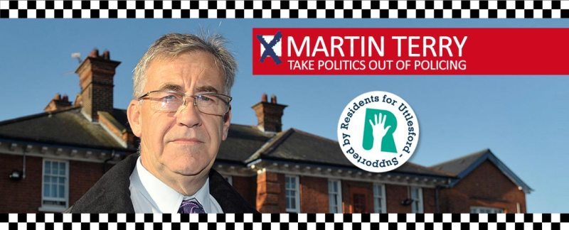 Banner: Martin Terry for Essex PCC