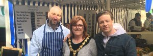 Jamie Oliver helps Residents' launch Saffron Walden survey to ask public about alcohol sales by market traders