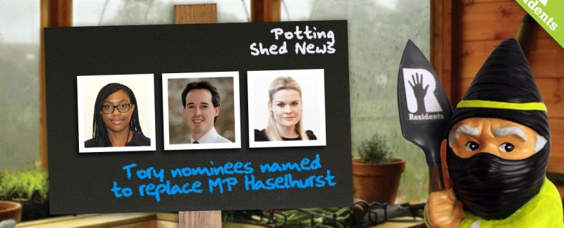 Saffron Walden Tory MP Shortlist Completed...We think...