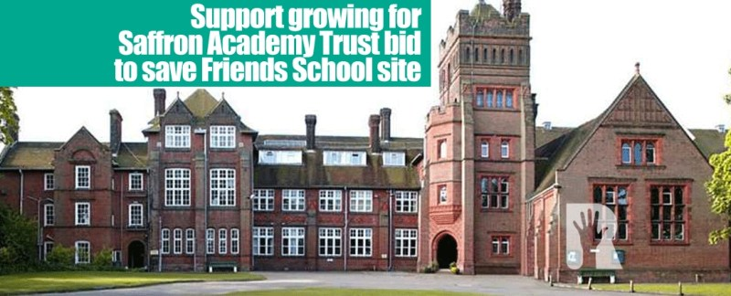 R4U and Saffron Walden Town Council support proposal by Saffron Academy Trust to take over former Friends School site