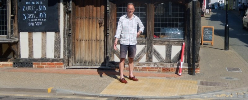 New dropped kerbs installed in Saffron Walden as next part of R4U programme to improve access in the town